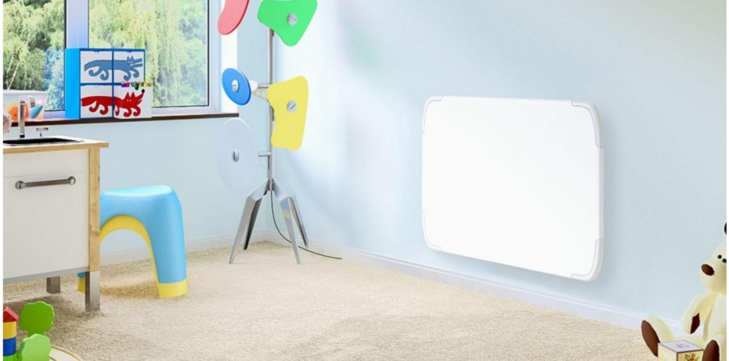 Noirot R21 tőrésbiztos fűtőpanel gyermekszobába