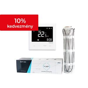Elektromos fűtőszőnyegek 100-150W/m2