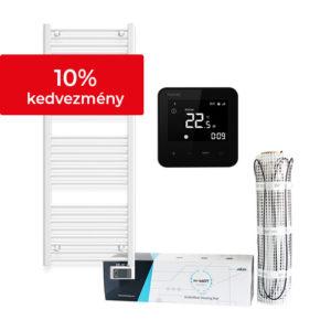 Fürdőszobai csomagajánlat Heato9 fekete termosztáttal