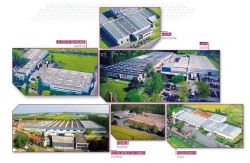 Noirot gyár Franciaország