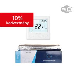 Netmostat N-1 + BVF L-PRO alu fűtőszőnyeg