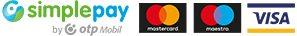 Biztonságos bankkártyás fizetés az OTP SimplePay rendszerében.