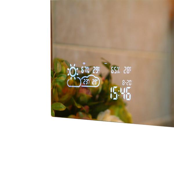BVF Adelig smart mirror tükör okos funkciókkal iOS és Android alkalmazással